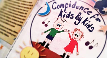 Front cover for the book Confidence for Kids by Kids