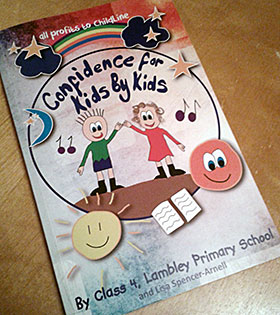 Confidence for Kids by Kids book cover